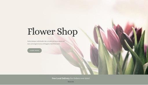 Top Wedding WordPress Themes for Flower Shop 2020 - Flower Shop