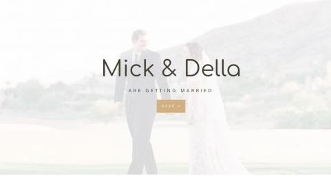 Top Wedding Invitation WordPress Theme - Wedding