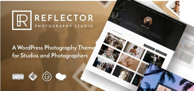 Top Wedding Photography WordPress Themes 2020 - Reflector