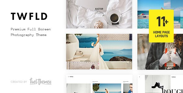 Top Wedding Photography WordPress Themes 2020 - Twofold