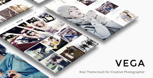Top Wedding Photography WordPress Themes 2020 - Vega