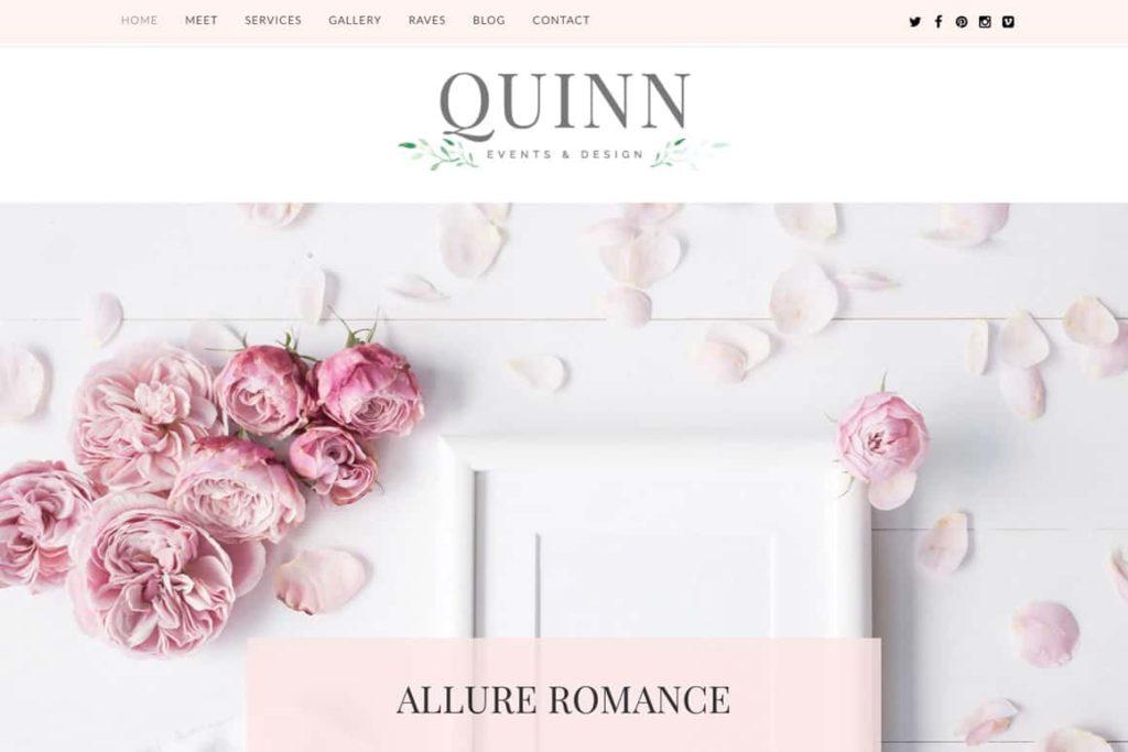 Top Wedding Planner WordPress Themes 2020 - Quinn