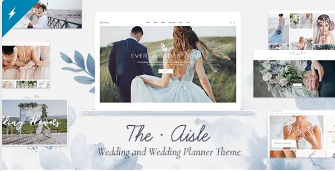 Top Wedding Planner WordPress Themes 2020 - The Aisle