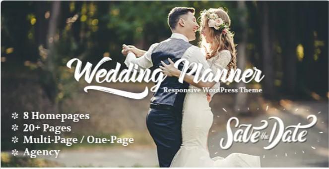 Top Wedding Planner WordPress Themes 2020 - Wedding Planner