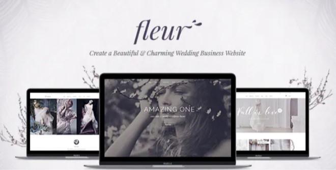 Top Wedding Planner WordPress Themes 2020 - Fleur