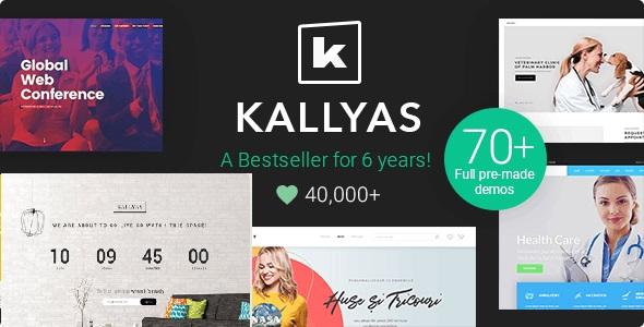 Top Wedding Save the Date WordPress Theme - Kallyas