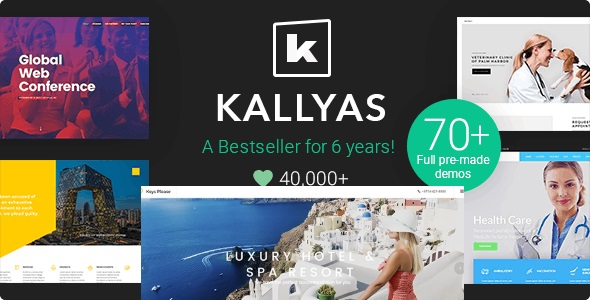 Top Wedding Venue WordPress Theme - Kallyas