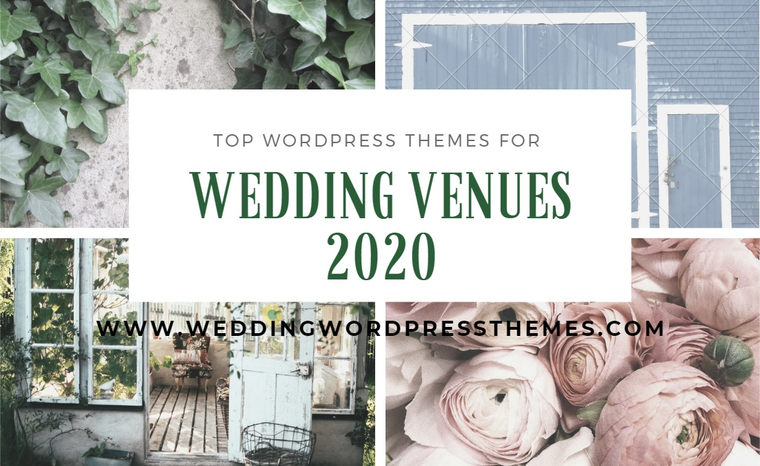 Top Wedding Venue WordPress Themes 2020