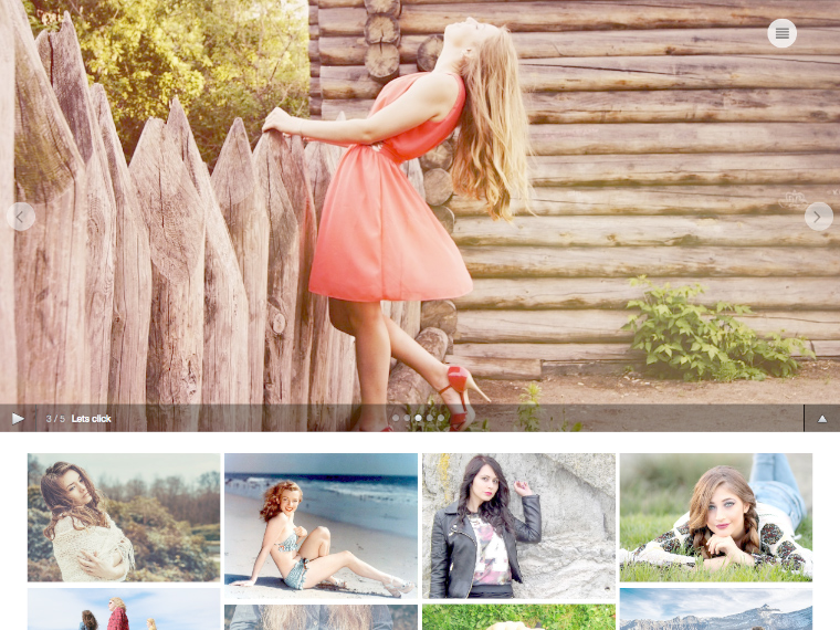 Free Wedding Photography WordPress Themes 2020 - Click