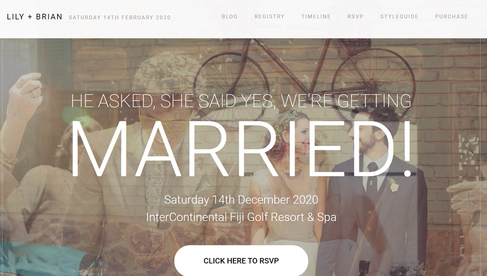 How to Create a Wedding Website with WordPress Theme Lily