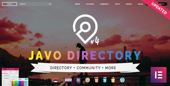 Top Wedding WordPress Themes to create Wedding Directory 2020 - Javo