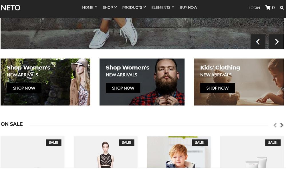 Wedding Floral shop WordPress Theme - Neto