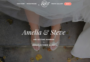 Wedding Invitation WordPress Themes 2020 - Ultra